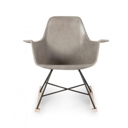 Rocking Chair HAUTEVILLE en Béton