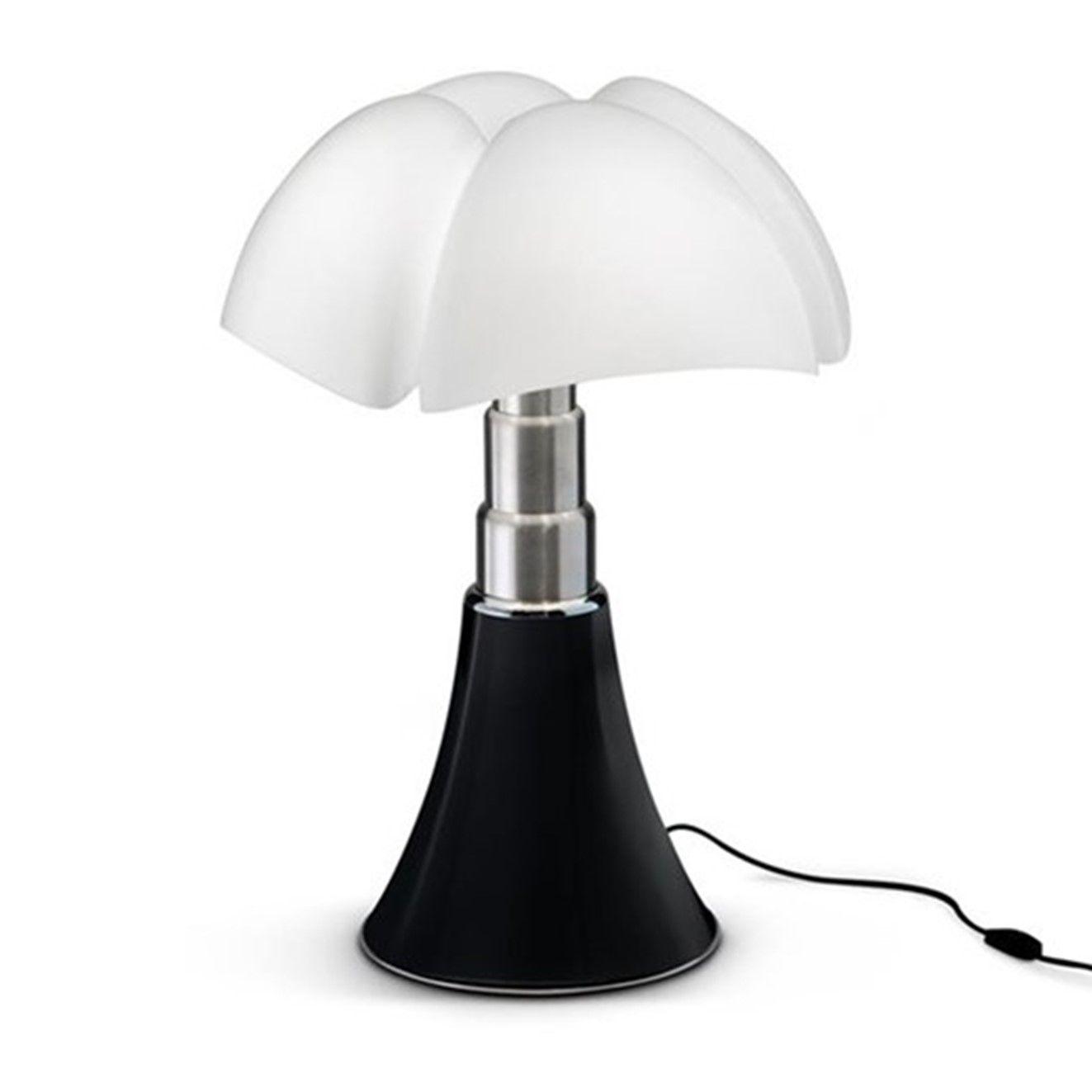 Grande Lampe Pipistrello Noir Mat Martinelli Luce H66 86cm Ref