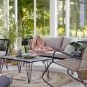 Rocking Chair Outdoor Bloomingville