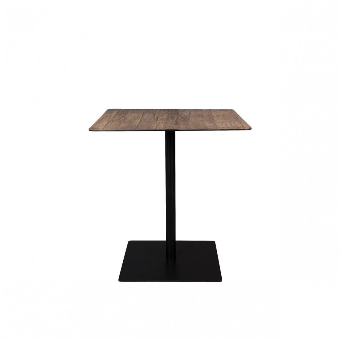 Table de bistro Braza Square Marron - Dutchbone