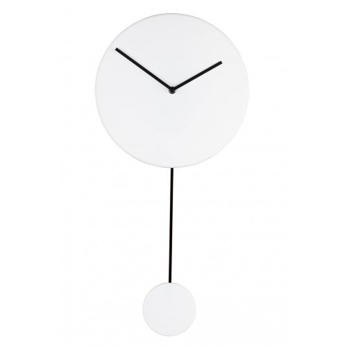 Horloge Minimal Blanche Zuiver