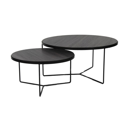 Tables Basses Miso Pomax 60/80 X H 32/38 CM