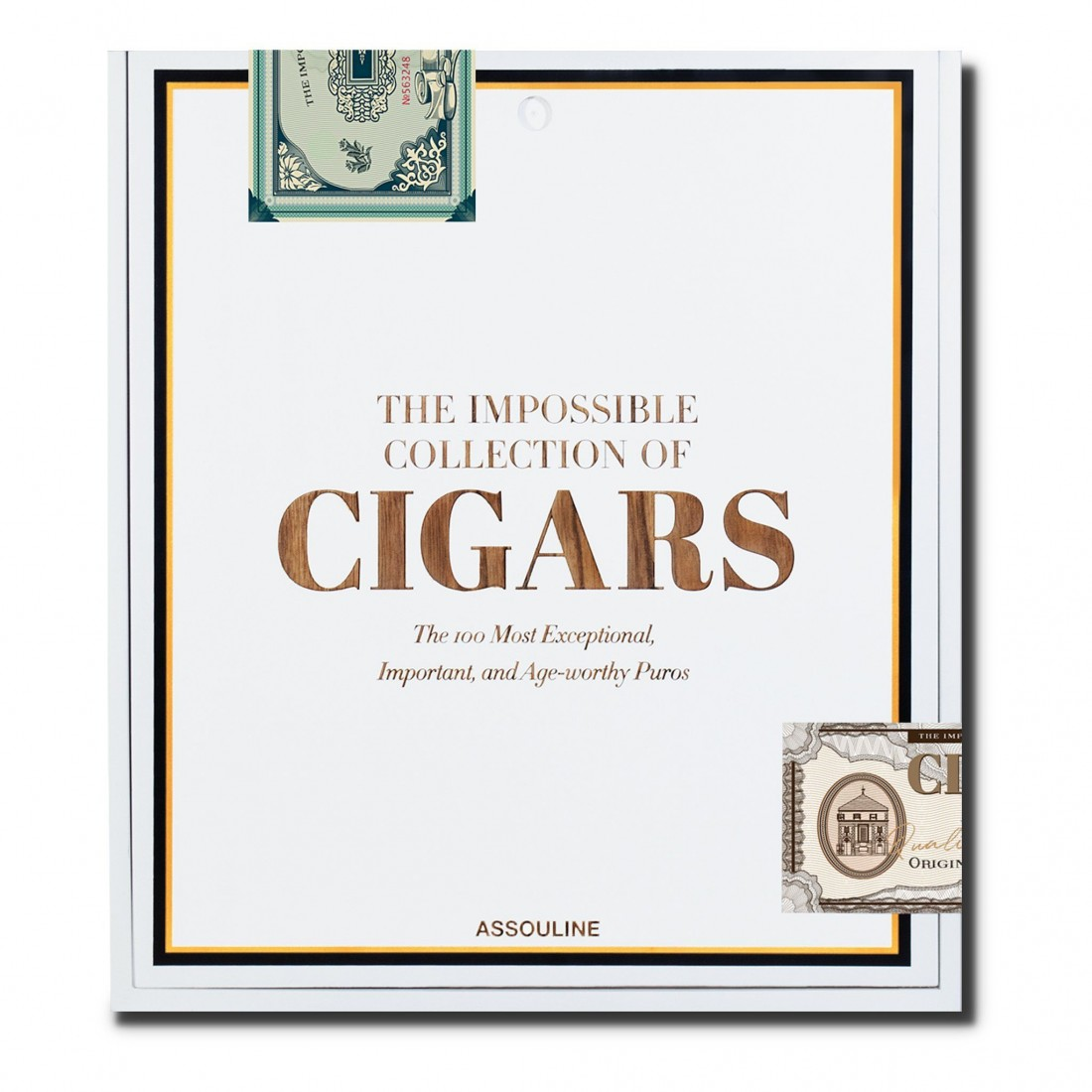 Livre The Impossible Collection of Cigars Assouline