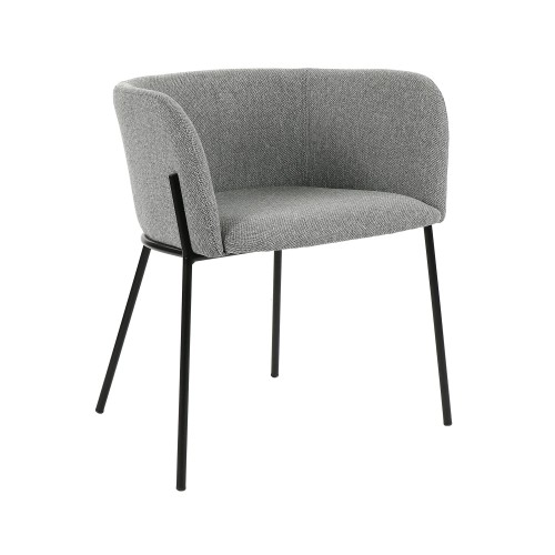 Chaise en Tissu Polka Pomax