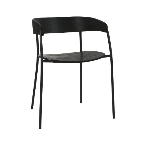Chaise en bois Oscar Pomax