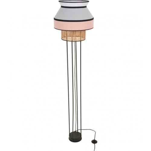 Lampadaire SINGAPOUR métal rose 158 x Ø40 cm - MARKET SET