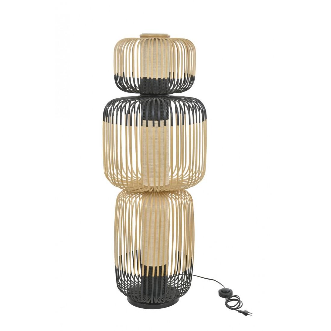 Lampadaire Bamboo 3 - Forestier