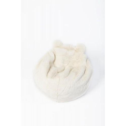 Pouf ours blanc - Wild & Soft