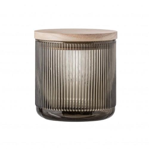 Vase en verre avec couvercle - Bloomingville