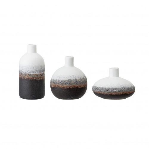 Set de 3 Vases en grès - Bloomingville