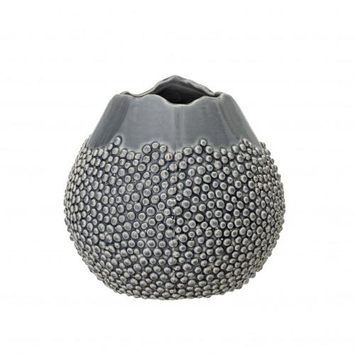 Vase Gris Bulles - Bloomingville