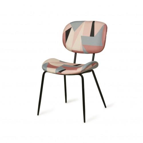 Chaise avec tissu imprimé - HK Living