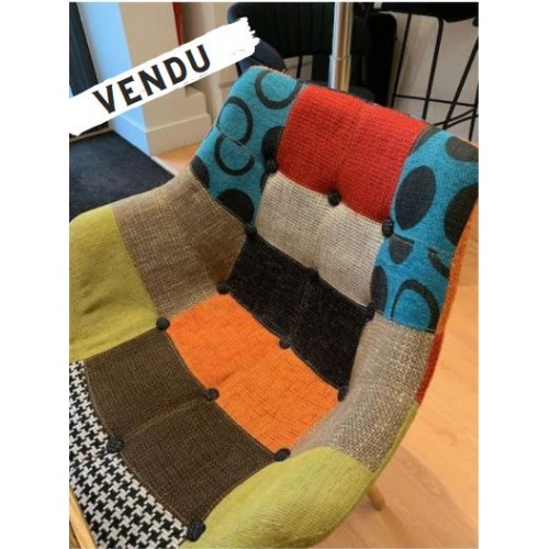 Chaise Twelve Patchwork Zuiver - 2nde Main