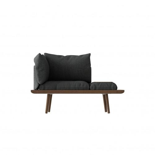 Canapé 1,5 places Lounge Around - Umage