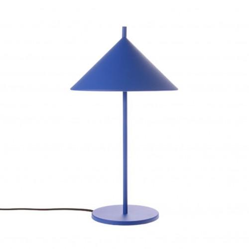 Lampe à poser Triangle Bleu Cobalt - HK Living
