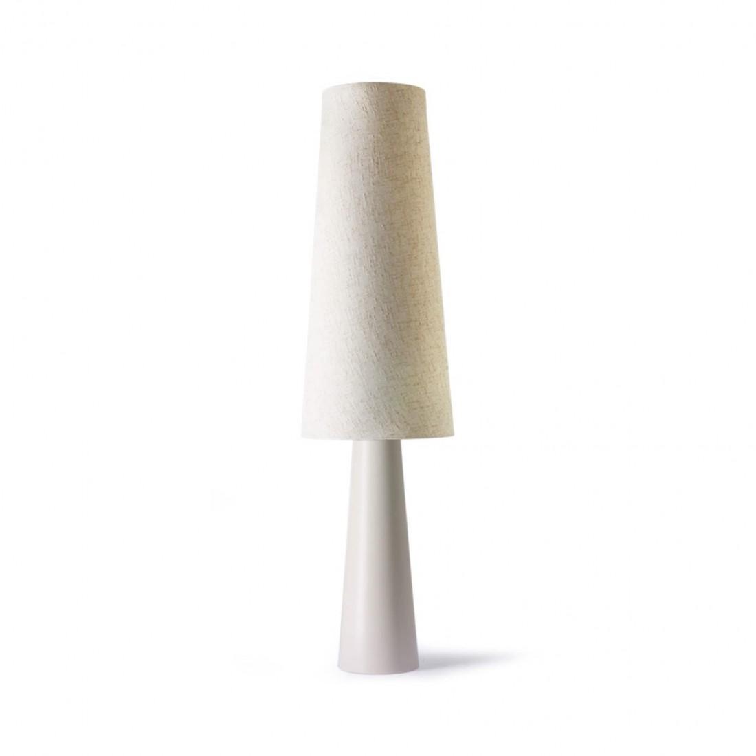 Lampe à poser Cone Crème - HK Living