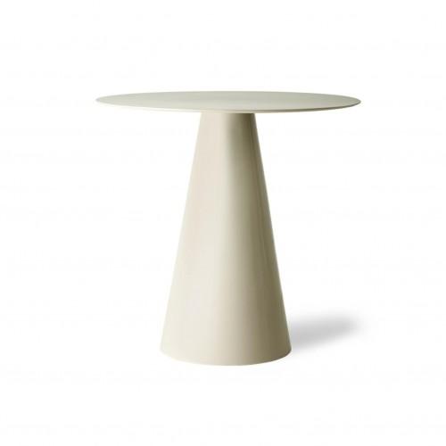 Table d'Appoint Blanc Crème - HK Living